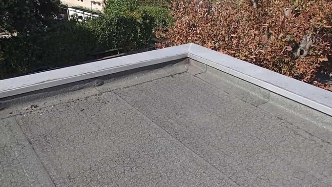 fuites sur toit plat
